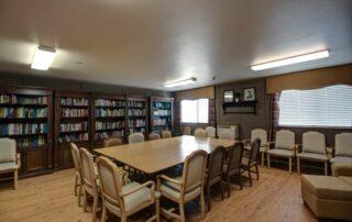 Library at Royal Columbian