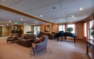 Living Room at Royal Columbian