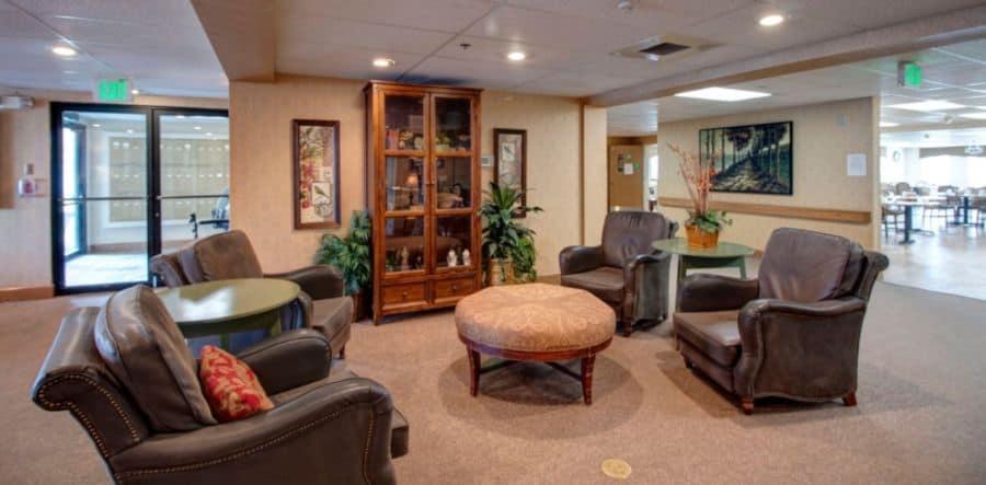 Lounge Area at Royal Columbian