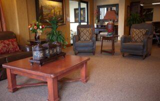 Seating Area at Royal Columbian