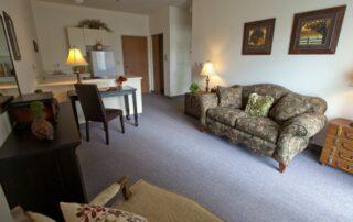 Apartment Living Room at Royal Columbian