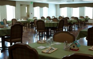 Clubhouse Dining Room at Royal Columbian